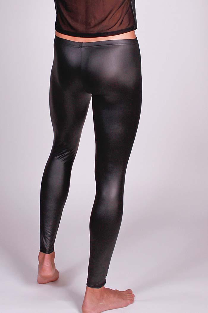 Body ART Herren Glanz Leggings Fastos Größe S M L XL in