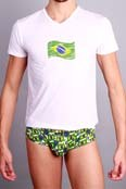 Body ART V-Shirt Brasil