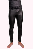 FunBoy Herren Leder-Optik Leggings / Meggings