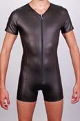 Herren Body in Leder Optik