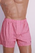 HOM Boxer Short -Vichy- Red