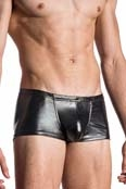 MANSTORE Bungee Pants M107 in Lack, Latex Optik