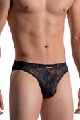 MANSTORE Hip Brief M759 Black