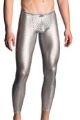 MANSTORE  Tight Leggings M702 Silver