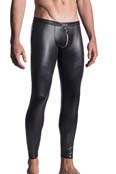 MANSTORE Zipped Leggings M661 Schwarz