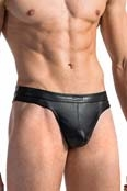 MANstore Hip String M564 Leder Optik