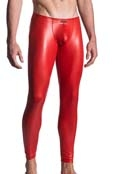 MANstore Leggings M510 Leder-Optik Tabasco