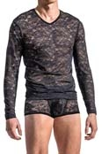 MANstore Long Sleeve M566 Schwarz