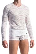 MANstore Long Sleeve M566 Weiß