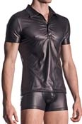 MANstore Polo Shirt M510 Leder-Optik