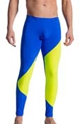 Olaf Benz Leggings RED 1715,  Blue-Lemon