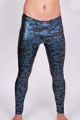 Robinson Party Leggings / Meggings 304T Metallic-Blue