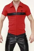 TOF Paris T-shirt Seduction Deluxe Rot-Schwarz