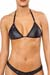Joe Snyder Girl Wetlook-Bikini Top Corfu 205 Schwarz