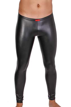 FunBoy Skinny Leggings 280 Unisex Leder-Optik