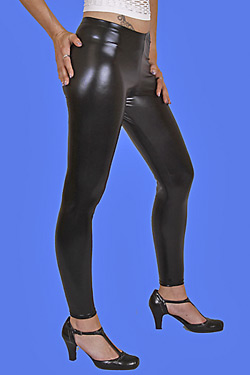 Glanz Leggings / Made in Germany