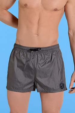 HOM BLACK ADDICT Bade Shinie Short Grey