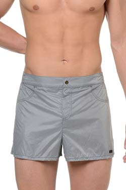 HOM BLACK ADDICT Beach Short Grey