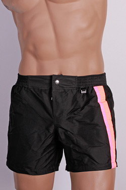 HOM Beach Short Copacabana-Black