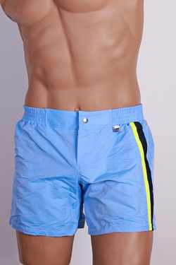 HOM Beach Short Copacabana-Blue