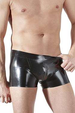 LATE X Herren Latex Zip Pants