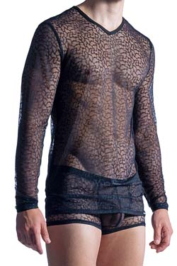 MANSTORE Long Sleeve M852 Schwarz