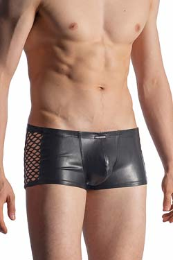 MANSTORE Micro Pants M917, Leder-Optik