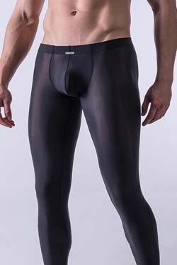MANSTORE Strapped Leggings M101 Schwarz