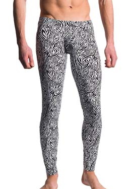 MANSTORE Tight Leggings M610 Zebra