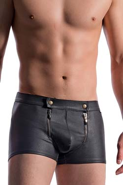 MANSTORE  Zipped Pants M715 Black