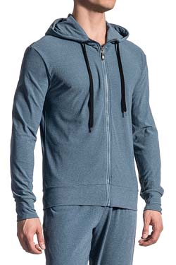 Olaf Benz Hoody mit Kapuze RED 1621 Denim