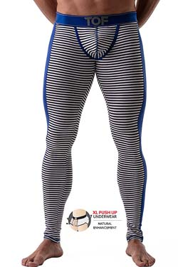 TOF Paris PushUp Leggings Maritim Blau