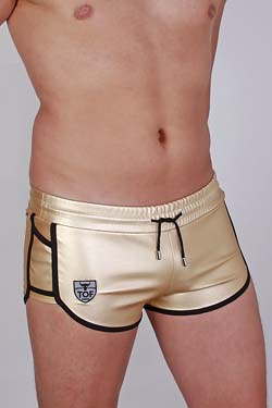 TOF Paris Short Golden