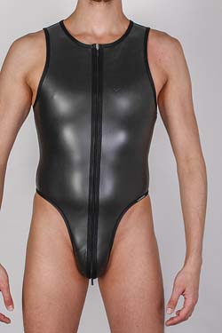 Wojoer Neopren Beach String Body Schwarz